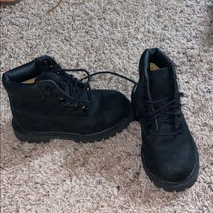 Kids timberlands toddler size 9 like brand new
